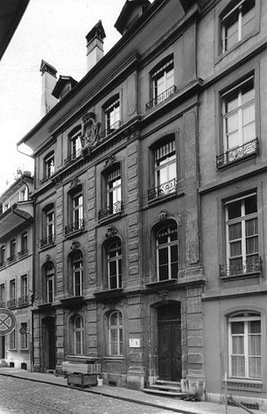 Herrengasse (Bern) - Herrengasse 4, showing the front facade
