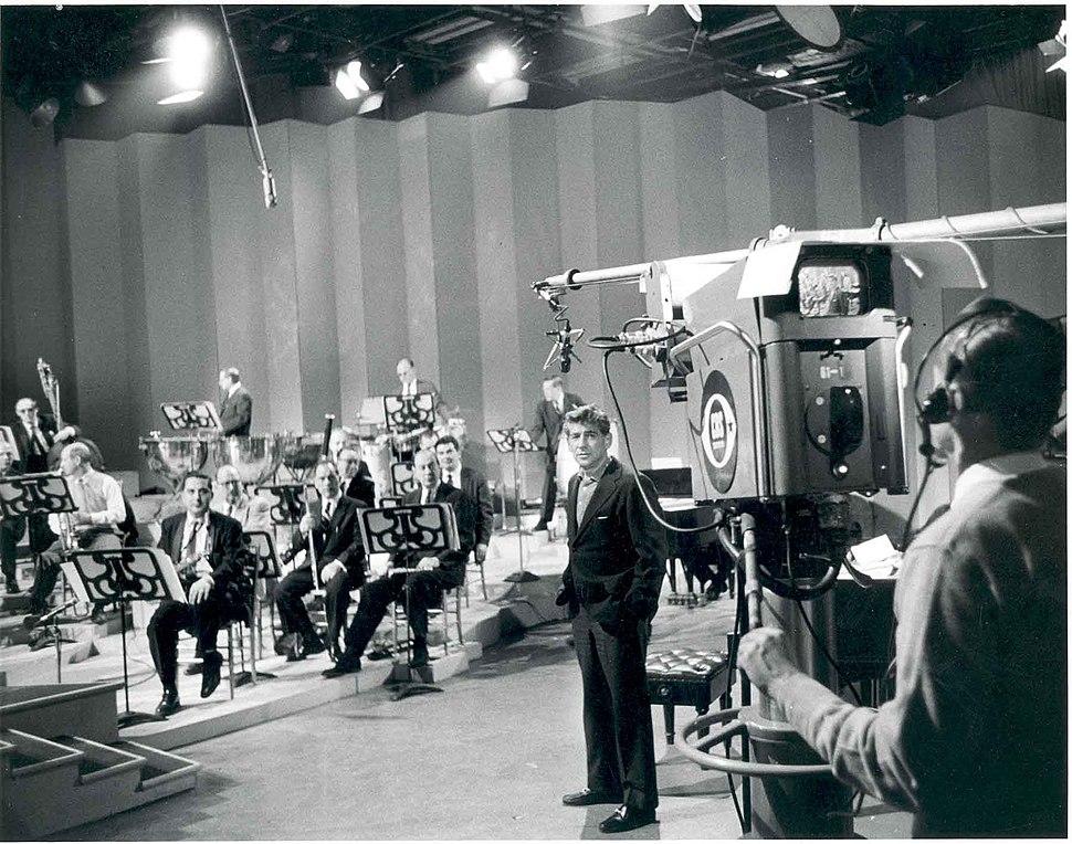 Bernstein with TV Camera