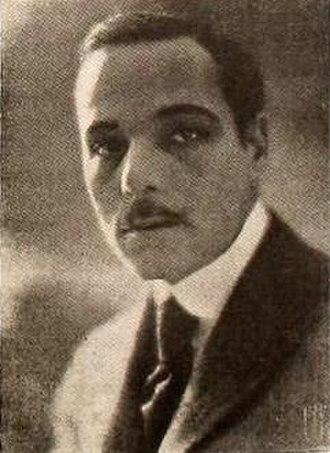 Bertram Grassby - Grassby in apicture from Motion Picture News (1920)