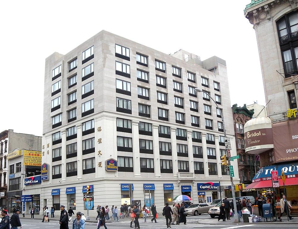 Hotel Bowery Best Western New York Fruhstuck