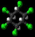 Beta-Hexachlorocyclohexane molecule ball.png