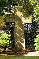 Bettrath, Gedenkkreuz Hansastrasse an der Kirche.JPG