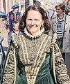 Betty van Viegen tijdens 1 april viering in Brielle (2016).jpg