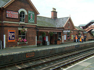 Bewdley railway station Station in Worcestershire, England