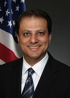 Preet Bharara American lawyer, author, and former federal prosecutor