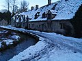 Bibury after snowfall at dusk - geograph.org.uk - 1158862.jpg
