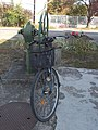 Bicycle and listed water well, 2018 Karcag.jpg