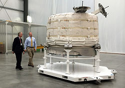https://upload.wikimedia.org/wikipedia/commons/thumb/e/e3/Bigelow_Expandable_Activity_Module_at_Bigelow%E2%80%99s_facility_in_Las_Vegas.jpg/250px-Bigelow_Expandable_Activity_Module_at_Bigelow%E2%80%99s_facility_in_Las_Vegas.jpg