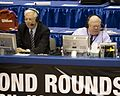 Bill Raftery and Verne Lundquist in 2009.jpg