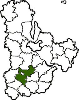 Bila Tserkva Raion Subdivision of Kyiv Oblast, Ukraine