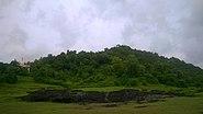 Birwadi fort, seen from the village