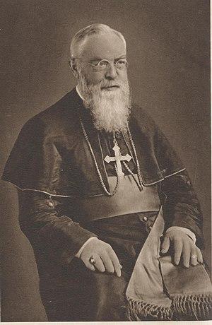Augustin Henninghaus - The bishop aged 60