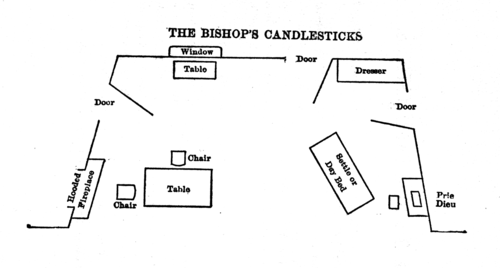 the bishops candlestick Ncert solutions for class 9th: ch 14 the bishop's candlesticks literature  reader english by norman mckinnel page no:128 1 copy and complete the.