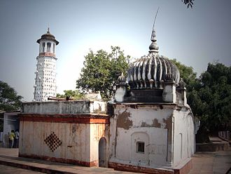 Bithoor - A temple of goddess Sita in Bithoor, where according to mythology, she left for her heavenly abode by entering into the earth. Jehangir near Ganges river