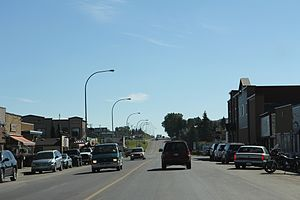 Black Diamond, Alberta - Downtown Black Diamond on Alberta Highway 22