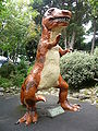Blackgang Chine Tyrannosaurus Rex dinosaur model.JPG