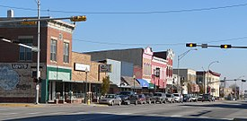Blair, Nebraska Washington from 18th.JPG