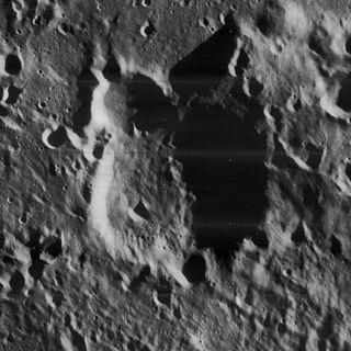 Blanchard (crater) Lunar impact crater