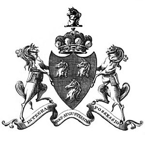 Baron Blayney - Coat of arms of the Barons Blayney.