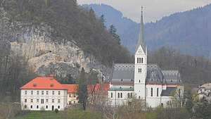 St. Martin's Parish Church (Bled) - St. Martin's Parish Church in Bled
