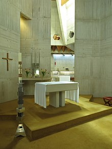 Blessed Sacrament Chapel, with Paschal Candle Stand, Clifton Cathedral