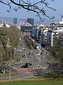 Blick von St. Margarethen in die Margarethenstraße zum Basler Bahnhof SBB.jpg