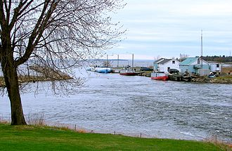 Blind River, Ontario - Harbour on the North Channel in Blind River