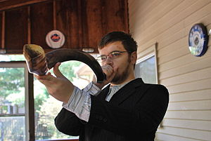 Shofar - Blowing the shofar