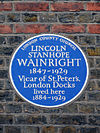 Blue Plaque - Lincoln Wainwright.JPG