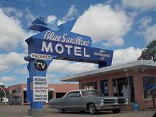 Route 66 reisef hrer auf wikivoyage for Motel one wellness