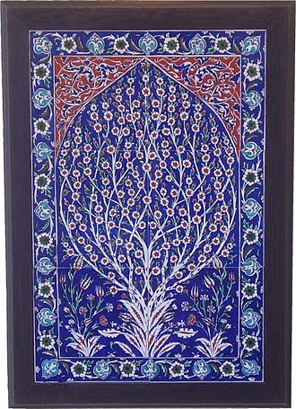 Turkish art - Blue Turkish Tiles