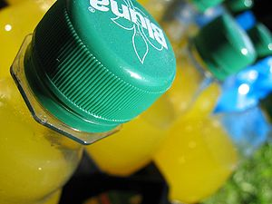 Bluna - Bluna bottles