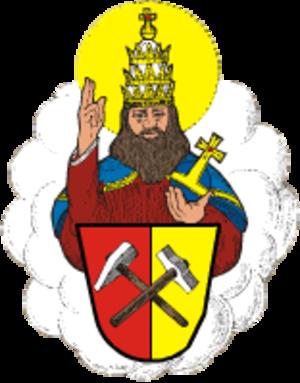 Boží Dar - Image: Boží Dar znak