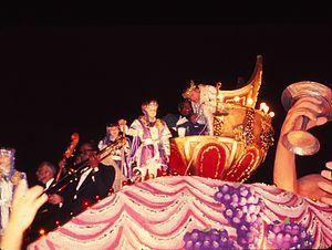 Krewe of Bacchus - Bob Hope as Bacchus 1973