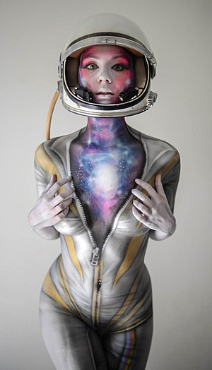 Body painting - Body Painting by Paul Roustan 3