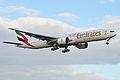 Boeing 777-31HER 'A6-EGI' Emirates (14335807999).jpg