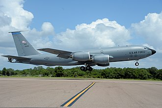 6th Air Mobility Wing - 6th Air Mobility Wing KC-135 Stratotanker takes off from MacDill Air Force Base