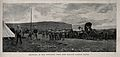 Boer War; bringing in the wounded the Willow Grange fight. P Wellcome V0015514ET.jpg