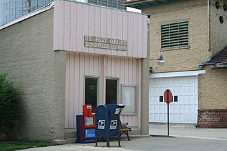 Bondville, Illinois - Bondville Post Office