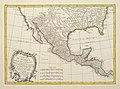 Bonne Carte du Mexique ou de la Nlle. Espagne contenant aussi le Nouveau Mexique, la Californie, avec une partie des pays adjacents 1771 UTA.jpg