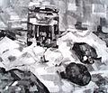 Bora Baruh Mrtva priroda 1939..JPG