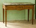 Bord med rektangulär skiva. 1780 - Skoklosters slott - 92370.tif