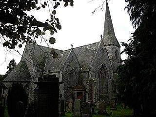Borthwick village in United Kingdom