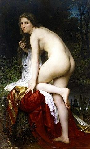 Купальщица. 1864, Музей изящных искусств (Гент)