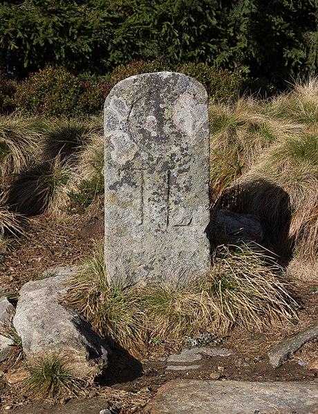 File:Boundary marker - Jeseniky, Czech Republic 12.jpg