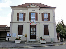 The town hall of Bouqueval
