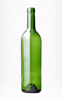 Bottle container of liquids