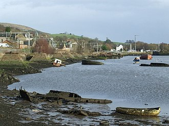 Bowling, West Dunbartonshire - Image: Bowling Harbour