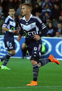 Oliver Bozanic Australian international football player