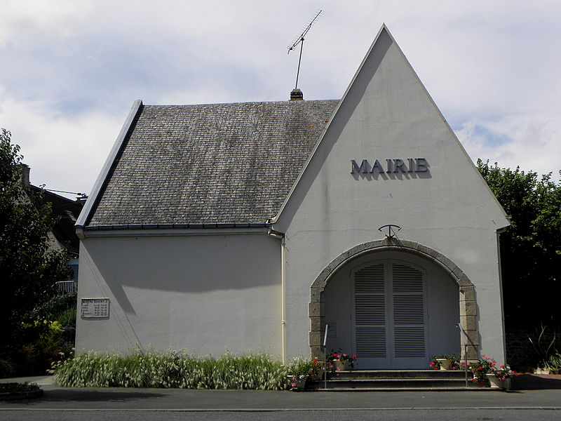Mairie de Brée (53).